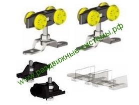 Механизм для раздвижных дверей до 60 кг
