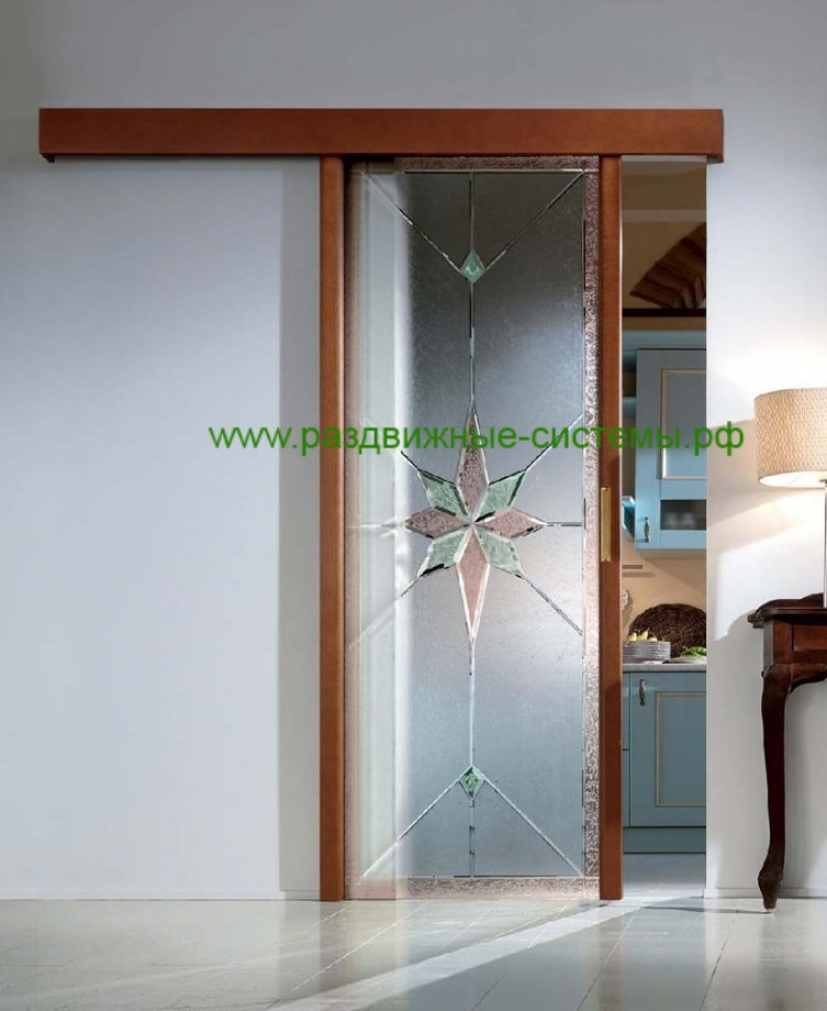 Образец раздвижного механизма дверей R106