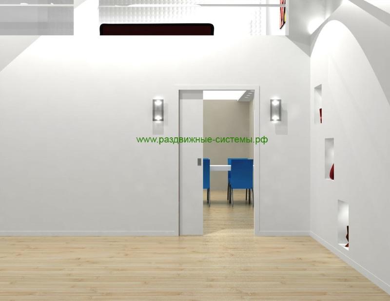 Раздвижная дверь в стене