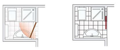 Схема экономия пространства