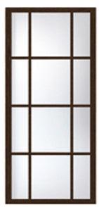 раздвижная перегородка на 12 стекол