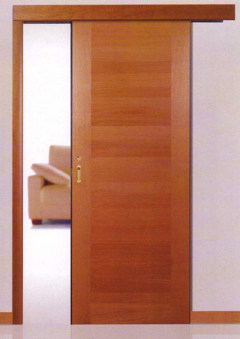 Образец раздвижного механизма дверей R55