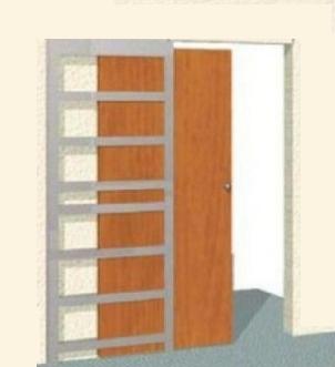 Каркас пенала для раздвижных дверей