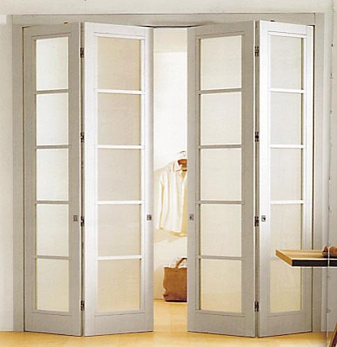 Складывающиеся двери