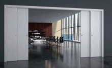 Раздвижные двери: практичные ... и архаичные.