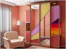 Зеркальные двери для шкафа купе в вашем интерьере