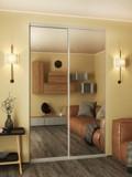 Каковы преимущества зеркальных дверей-купе?